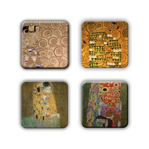 Coaster Set: Klimt Group 8