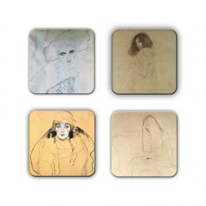Coaster Set: Klimt Group 9