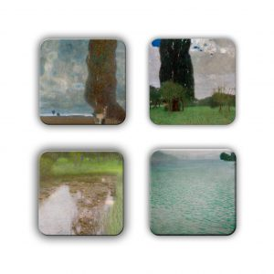 Coaster Set: Klimt Group 10
