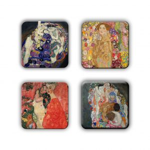 Coaster Set: Klimt Group 12