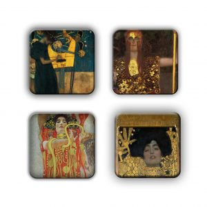 Coaster Set: Klimt Group 13