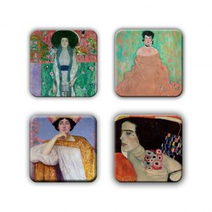 Coaster Set: Klimt Group 14