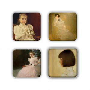 Coaster Set: Klimt Group 15