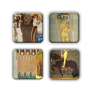 Coaster Set: Klimt Group 16