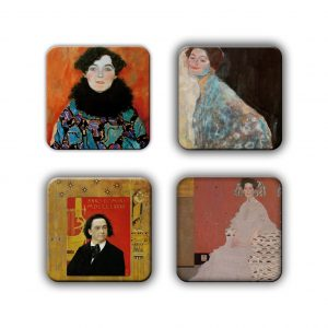 Coaster Set: Klimt Group 17