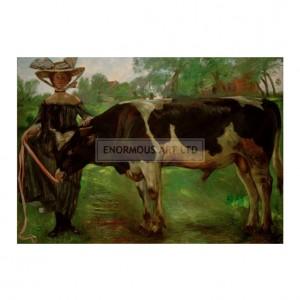 COR003 Girl with Bullock