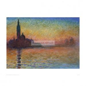 CSA005 San Giorgio Maggiore (Sunset in Venice)