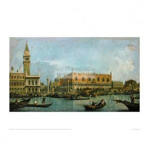 CAN002 Le Mole Vu du Bassin de San Marco