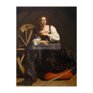 CAR024  Saint Catherine of Alexandria 1598