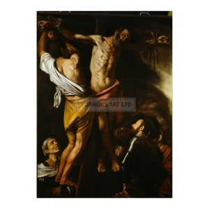 CAR031  The Crucifixion of Andrew the Apostle 1607