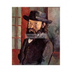 SP002 Paul Cezanne Self Portrait 1880