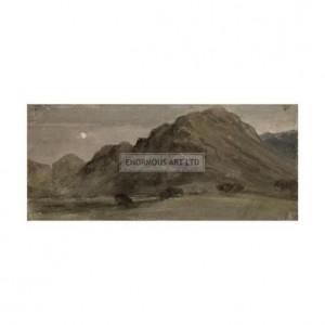 CON002 Borrowdale by Moonlight