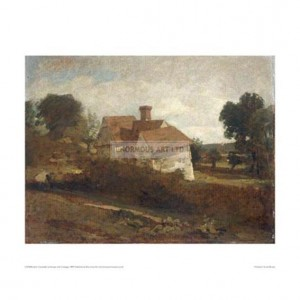 CON006 Landscape with Cottages, 1809
