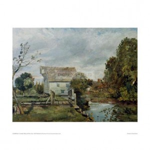 CON008 Mill by the River Stour, 1820