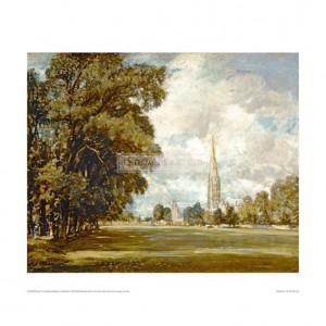 CON009 Salisbury Cathedral, 1820
