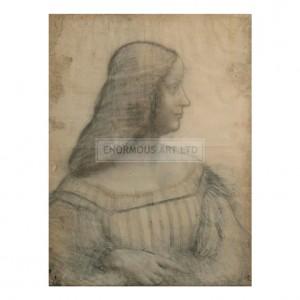 DAV005 Portrait of Isabella d'Este