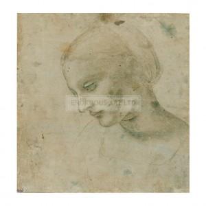 DAV045 Head of a Woman