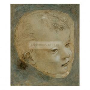 DAV046 Head of a Child