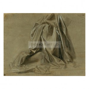 DAV047 Drapery for a Kneeling Figure