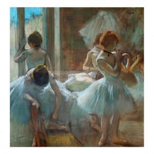 DEG007 Dancers Resting, 1884