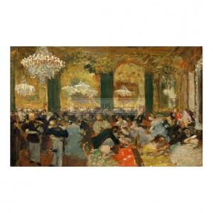 DEG047 Dinner at the Ball, 1879
