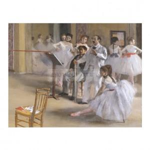 DEG057 Ballet Room at Opera Peletier (detail)