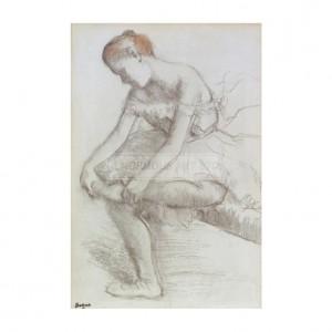 DEG071 Dancer Seated, 1896