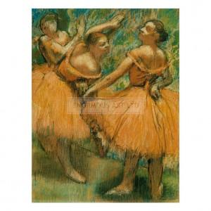 DEG072 Dancers in Red