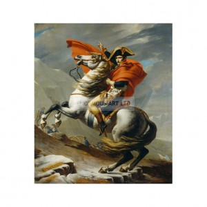 DAV001 Napoleon Crossing the Alps