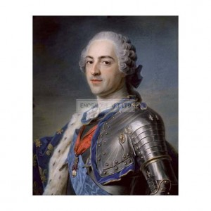 DEL007 Portrait of King Louis XV