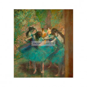 DEG014 Blue Dancers, 1893