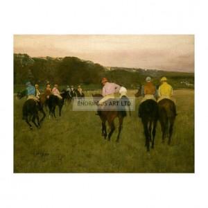 DEG086 Horserace in Longchamp