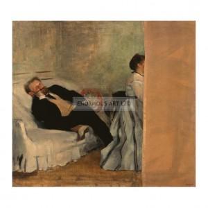DEG033 Monsieur et Madame Edouard Manet