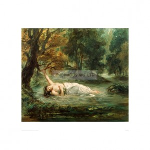 DEL295  Death of Ophelia, 1859