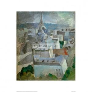 "DEL049 Study for ""The City Paris"", 1909"