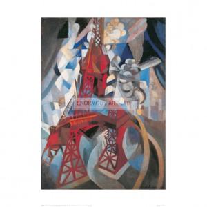 DEL061 The Tour Eiffel and Paris, 1911-1912
