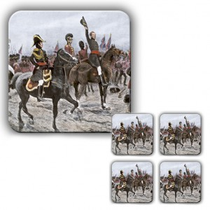 Coaster Set: Duke of Wellington, Advancing