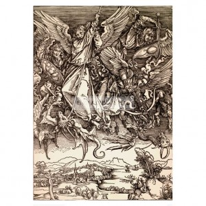 DUR004 Saint Michael's Fight with the Dragon, 1498