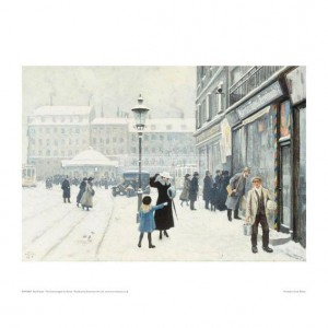 FIS007 The Osterbrogade in Winter, 1918