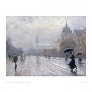 FIS017 A Street Scene, 1902