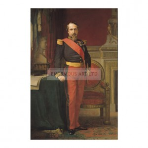 FLA001 Portrait of Napoleon III