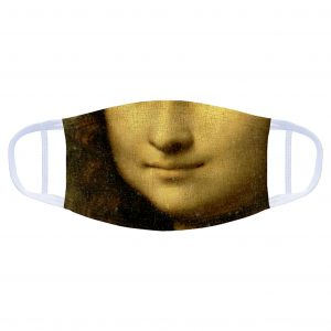Face Covering: Mona Lisa