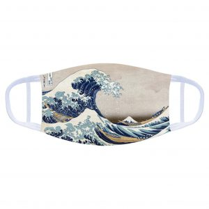 Face Covering: The Great Wave
