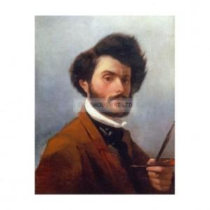 SP018 Giovanni Fattori Self Portrait 1854
