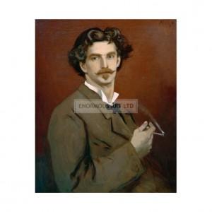 SP028 Anselm Feuerbach Self Portrait 1878