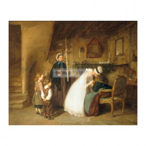 FRE004 The First Communion, 1867