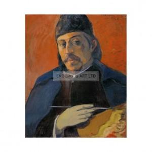 SP023 Paul Gauguin Self Portrait With Palette