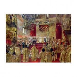GER007 Study for the Coronation of Tsar Nicholas II