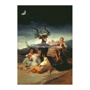 GOY003 The Witches' Sabbath 1797