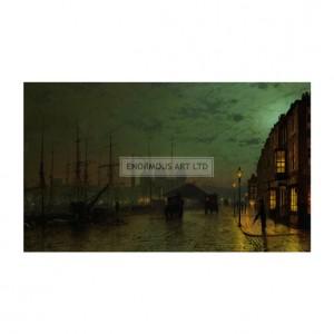SA166 Prince's Dock, Hull, 1882